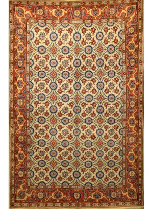 No. 142 Old Persian Veramin 7' x 4'
