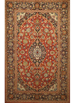 No. 150 Persian Kashan 7' x 4'