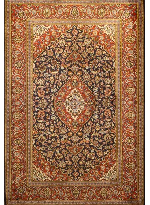 No. 154 Old Persian Kashan 7' x 4'