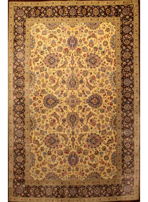 No. 211 100% Silk Persian Qum 7' x 4'