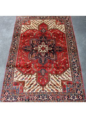 No. 307 Old Persian Heriz 11' x 8'